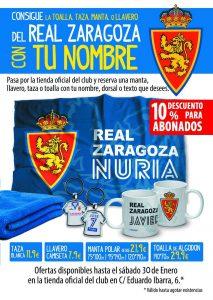 Artículos personalizados Real Zaragoza