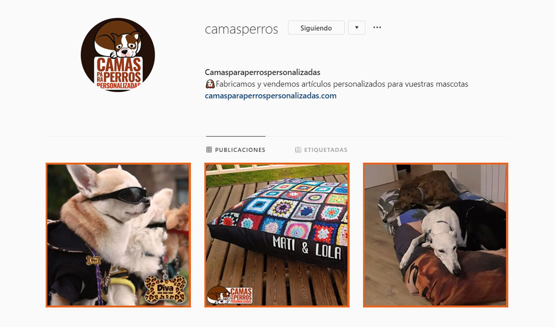 Instagram camas